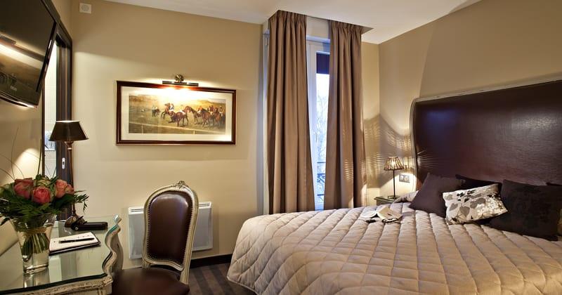 Grand Hotel Continental Reims Chambre - Credits Grand Hotel Continental