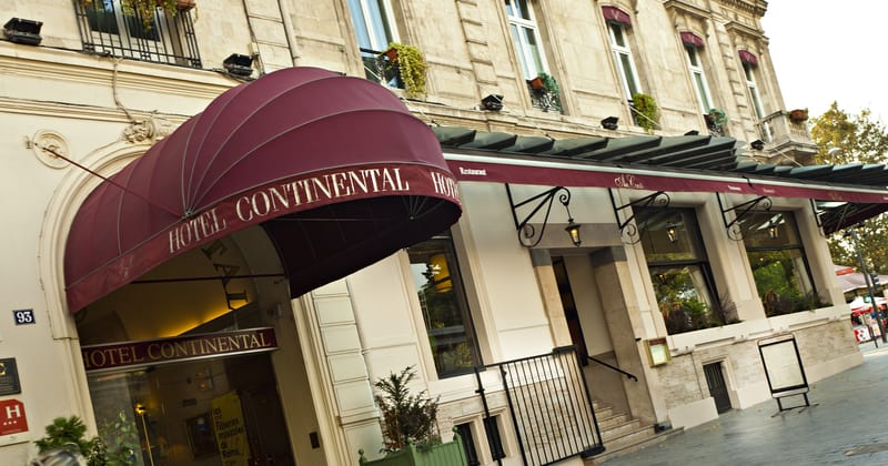 Grand Hotel Continental Reims - Credits Grand Hotel Continental