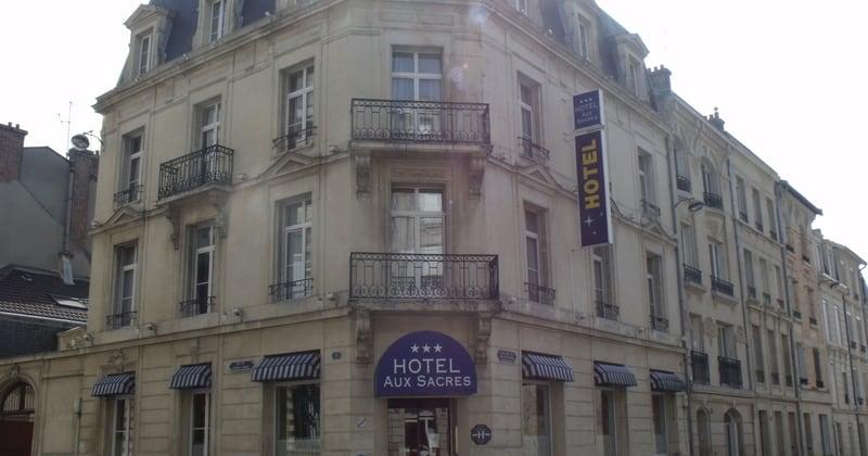 Credits Hotel aux Sacres Reims
