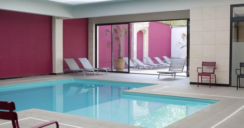 Hotel de la Paix - La Piscine ® Yvan Moreau