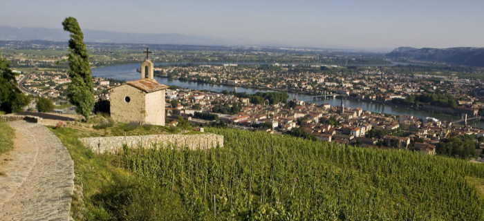 Rhone wine tours. Tain l'Hermitahe- L Pascale