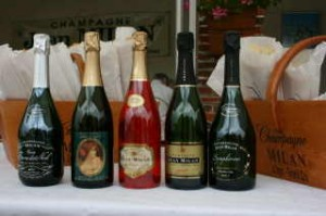 Champagne weekend - Milan Bottles