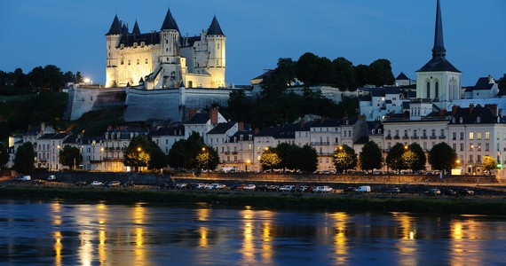 Loire area Saumur by night ® JS. Evrard 2014
