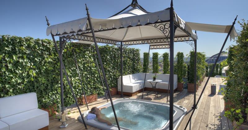 InterContinental Bordeaux Le Grand Hotel Spa NUXE Les Bains de Léa @Alain Caboche