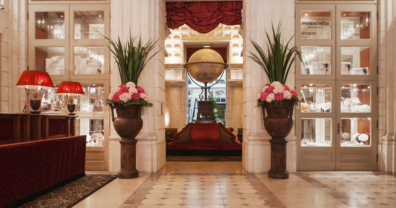 InterContinental Bordeaux le Grand Hotel Lobby @Julie Rey