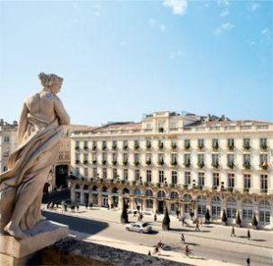 Grand Hotel de Bordeaux et Spa- Exterior