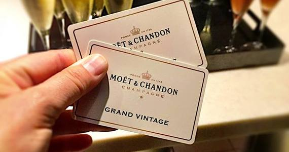 Champagne tasting in Epernay - Credits Customer Moet