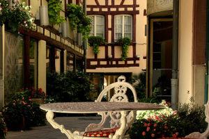 Hotel Beaucour Strasbourg- Courtyard