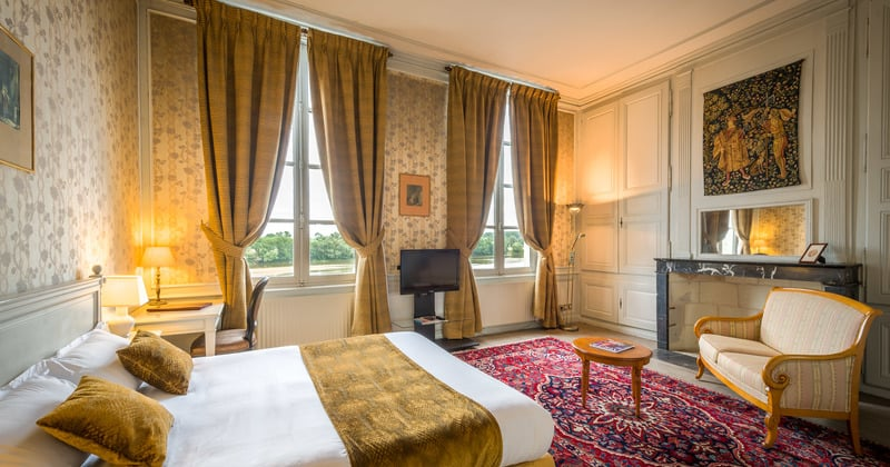 Hotel Anne d'Anjou Chambre - Credits Anne d'Anjou