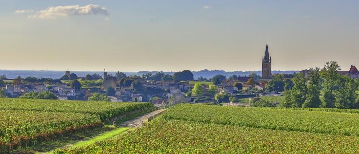 Saint-Emilion Wine Tour SAINT EMILION_view from MONDOT- Credits Office de Tourisme Saint Emilion and Steve LECLECH