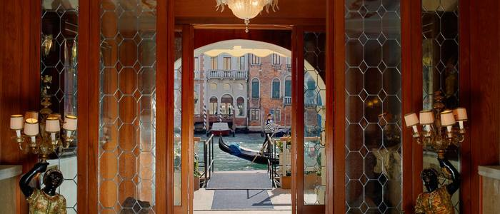 Gritti Palace - Water Entrance