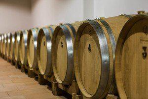 Barrels at Cantina-Relais in Prosecco