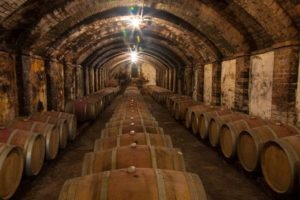 Tuscany wine cellars
