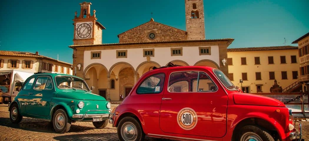 Tuscany travel - Credits 500 Touring Club
