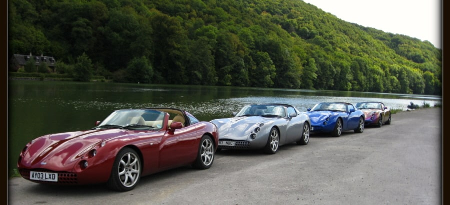 Company Anniversary Cars