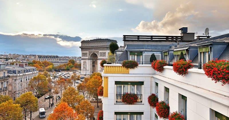Hotel Napoleon facade - credits Hotel Napoleon