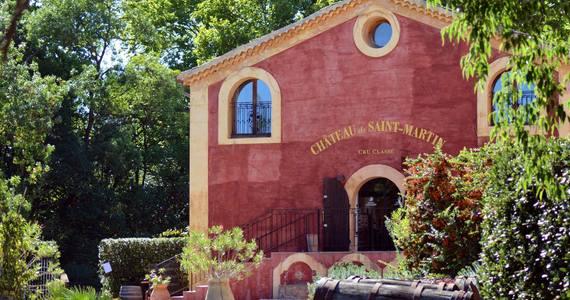 Luxury wine tours - Credits Chateau Saint Martin