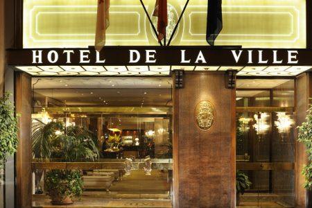 Hotel de la Ville credits Hotel de la Ville