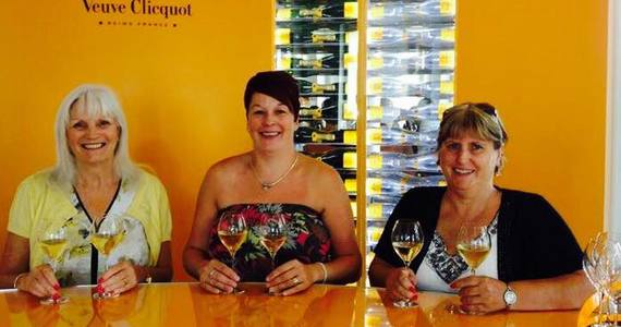 Veuve Clicquot Tour - Credits Veuve Customer