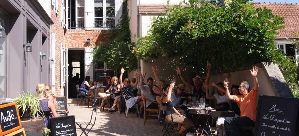 Photo Au 36 - Terrasse Wine Club Tours