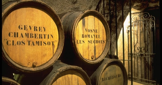 Extensive Burgundy wine tours