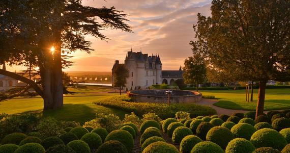 25. Jardin . Château d'Amboise L. De Serres